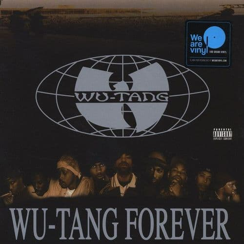 Wu-Tang Clan<br>Wu-Tang Forever<br>4LP, RE, 180g